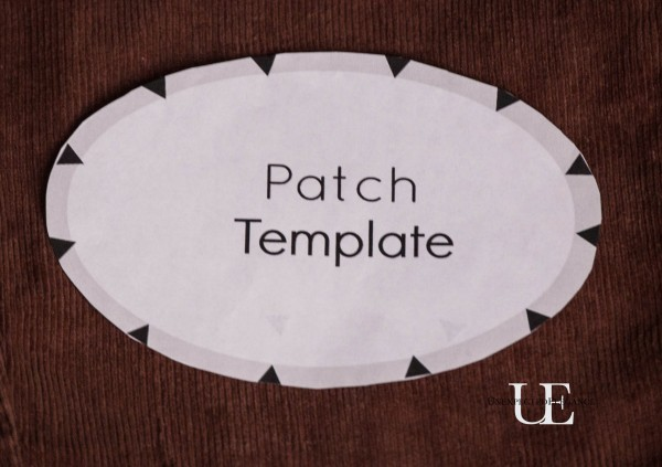 Easy Way to Add Elbow Patches to Your Wardrobe | Unexpected Elegance