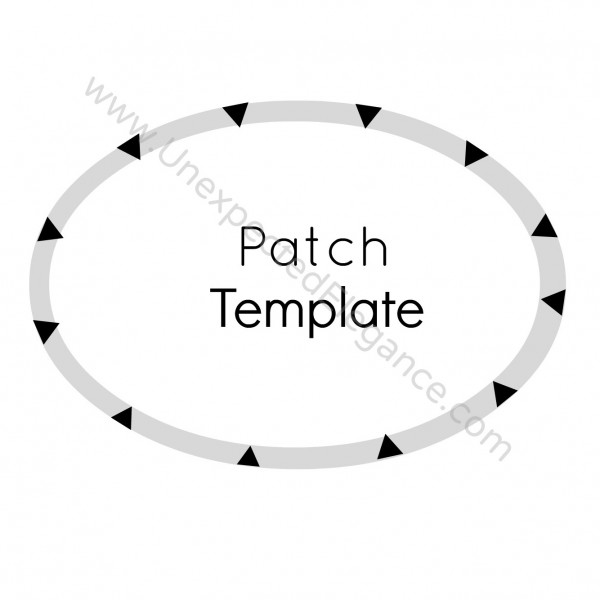 patch template from Unexpected Elegance