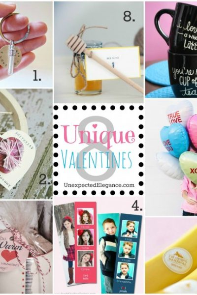 8 Unique Valentines for the People You LOVE