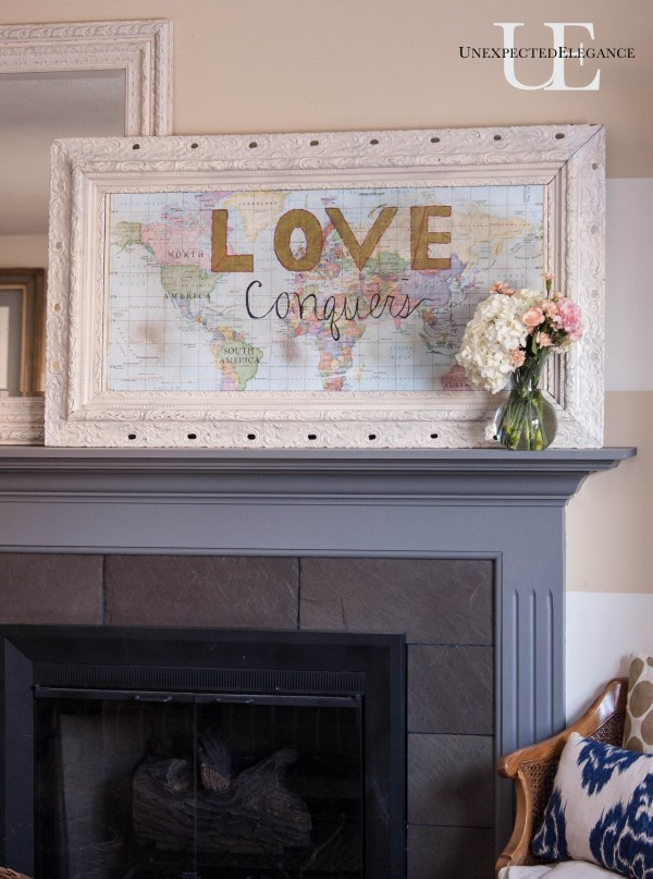 LOVE Conquers Map Art Tutorial