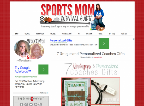 Sports Mom Survival Guide Launch