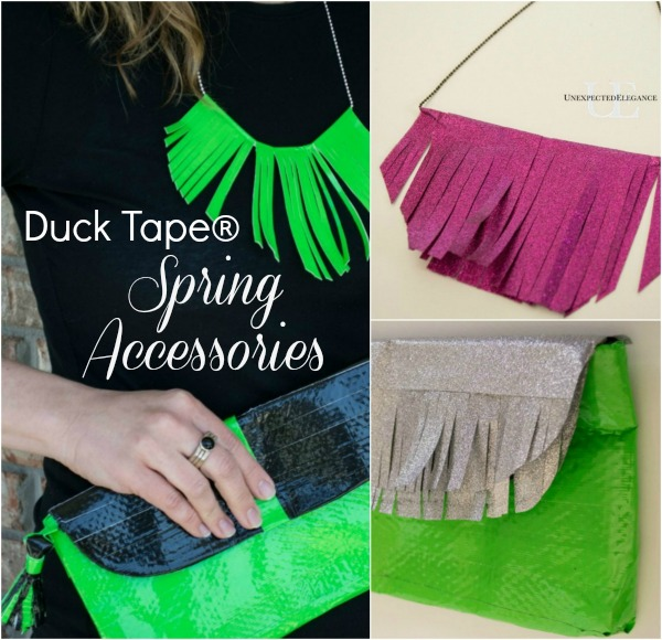 4 Duck Tape Spring Accessories