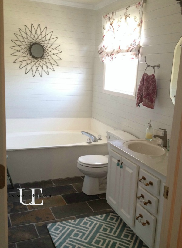 Budget Makeover for Master Bathroom
