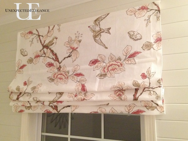 Custom Roman Shade-NO SEW