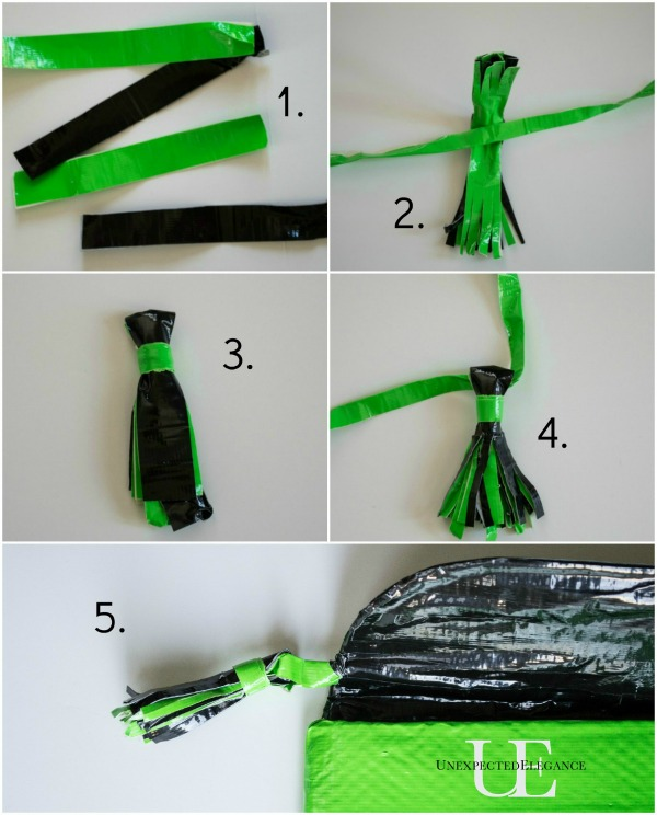 How to Make a Duck Tape Tassle