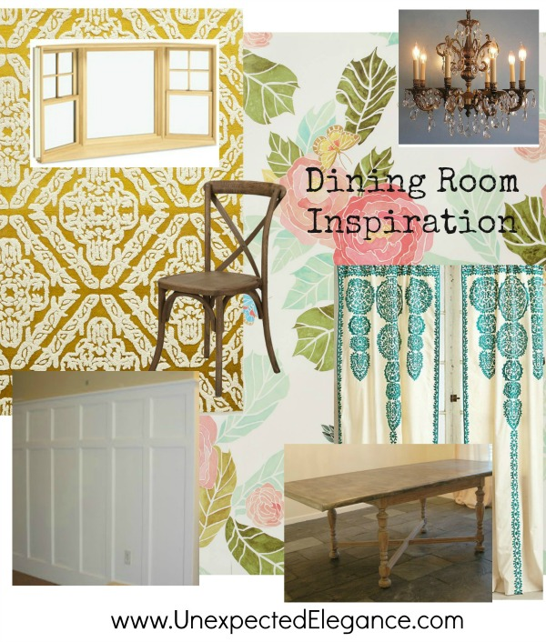 dining room inspiration mood board