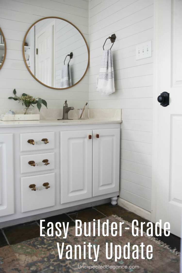 The Simple Changes Definitely Made A Huge Impact On The Aesthetic Of The  Space! To See The Complete Bathroom Update ...
