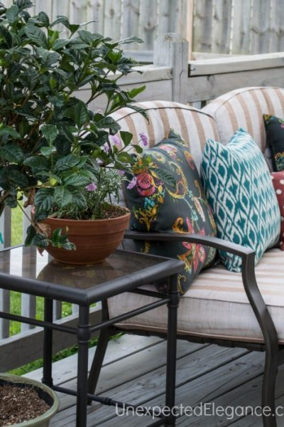 Transform Your Patio Furniture with Frog Tape