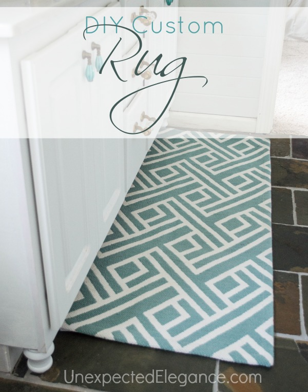 Diy Custom Rug Modify A To Fit Any