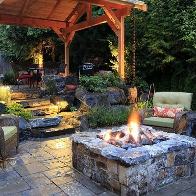 3 Tips for Creating a Rustic-Style Patio