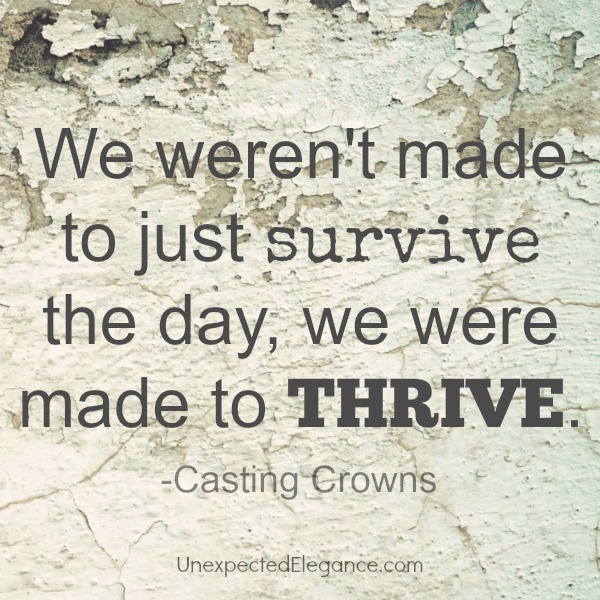 We were made to THRIVE