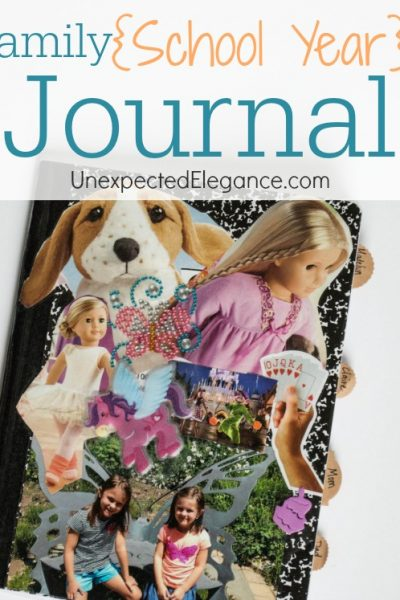 Family School Year Journal