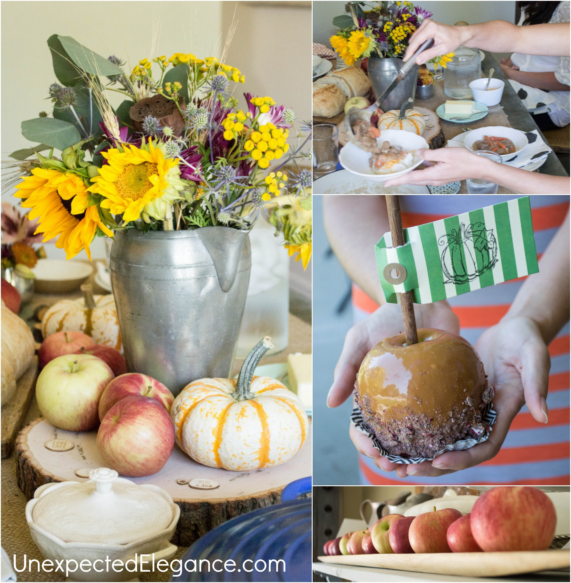 Fall Apple Themed Luncheon