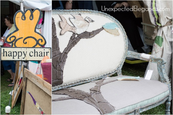 Happy Chair at Country Living Fair 2014