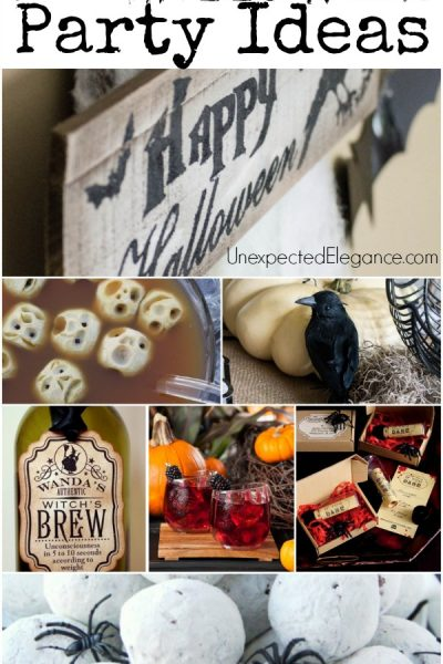Throw a SPOOKTACULAR Adult Halloween Party