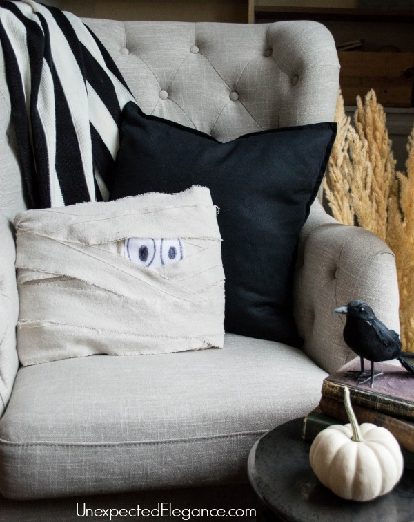 DIY Mummy Pillow for Halloween-1-5