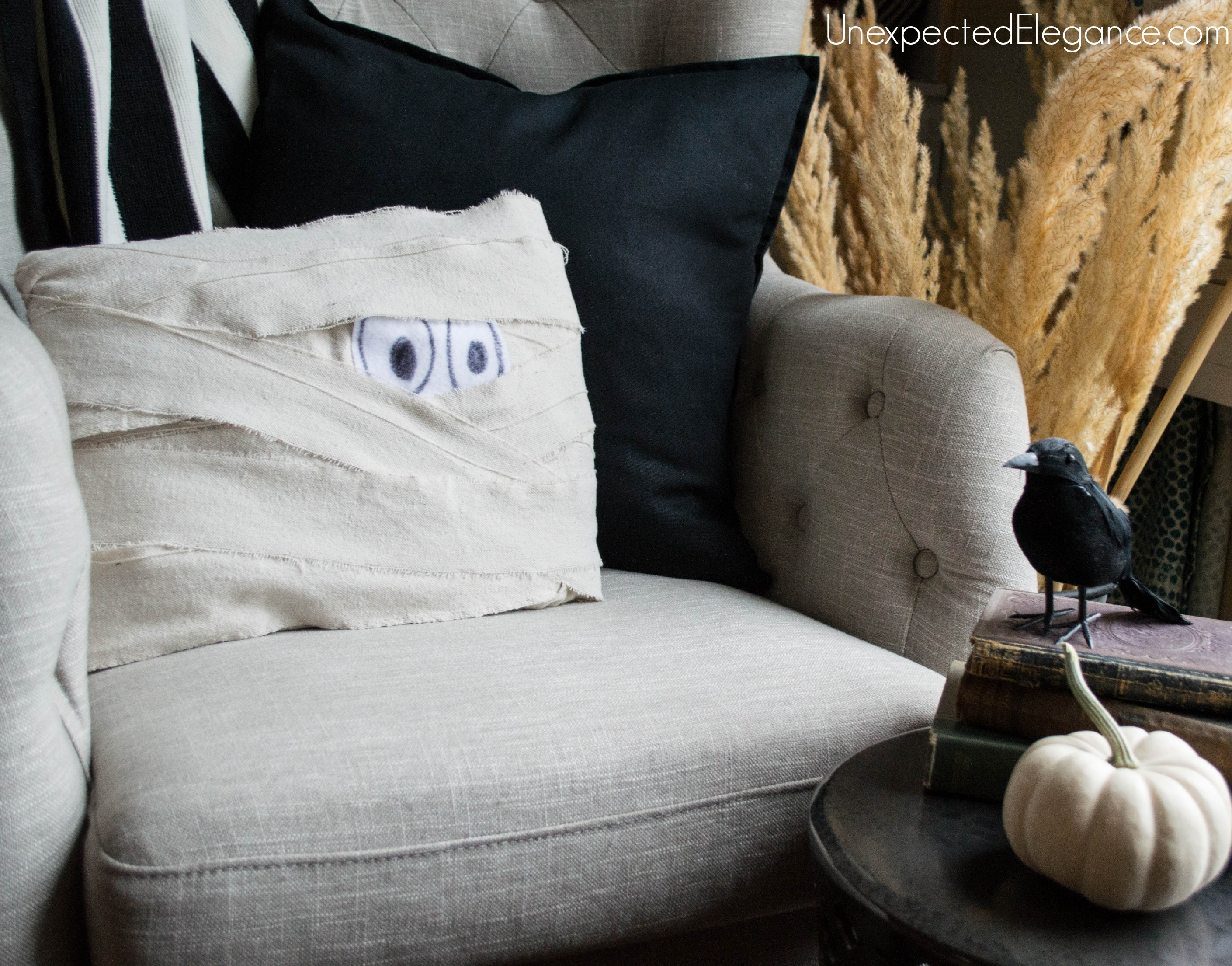 DIY Mummy Pillow for Halloween-1-6