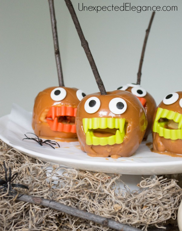 MONSTER Caramel Apples-1-9