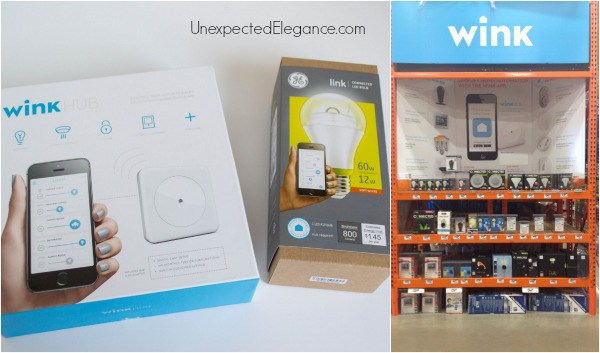 Wink Home Security at Home Depot