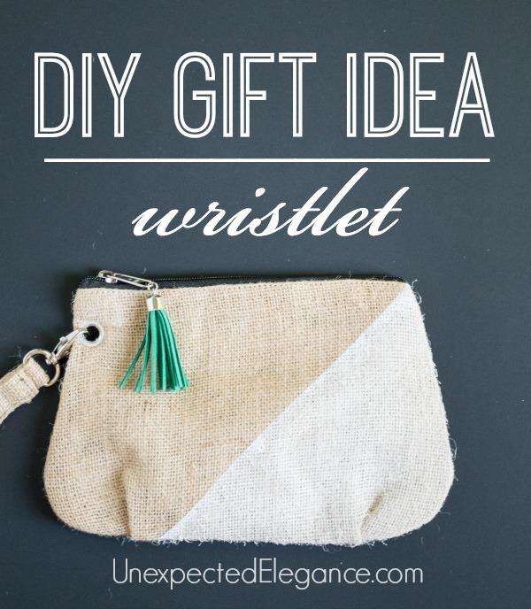 DIY 10 Minute Wristlet