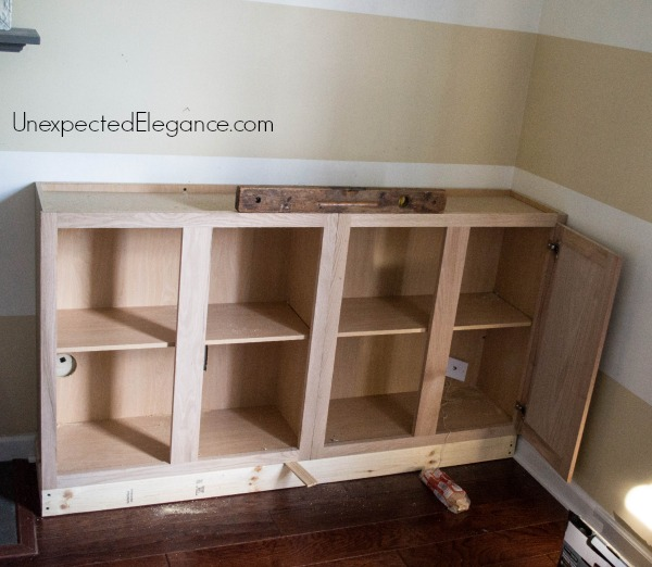 how to build kitchen cabinets in place my quot big finish quot diy fireplace built ins 9306