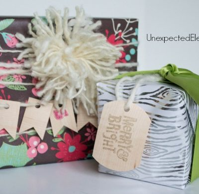 Gift Wrapping | Wooden Gift Tags
