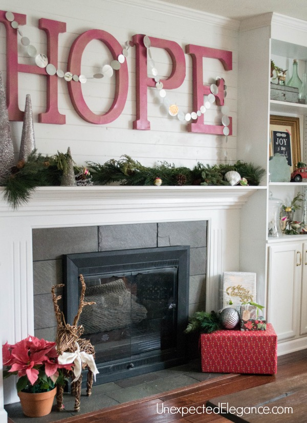 A few simple tricks can make your home feel like you spent days decorating.  See how FAKING a fully decorated house is fairly easy!