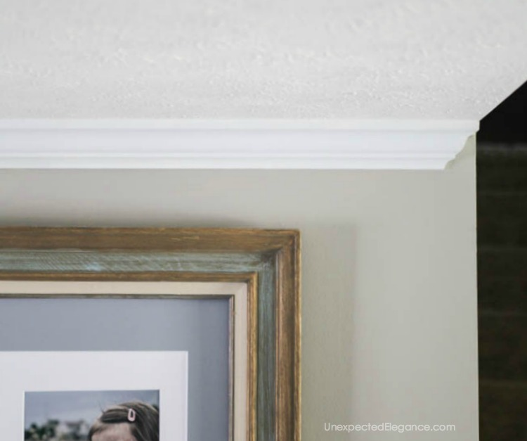 How to Dead End Crown Molding | Unexpected Elegance