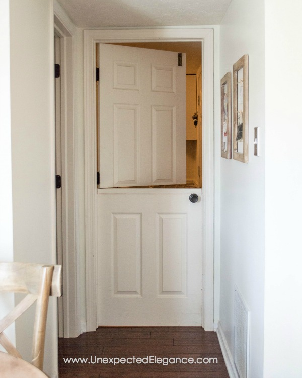 How to turn a Hollow Core Door Into a Dutch Door-1-3