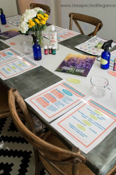 SummerTime Essential Oils with FREE Class Printables