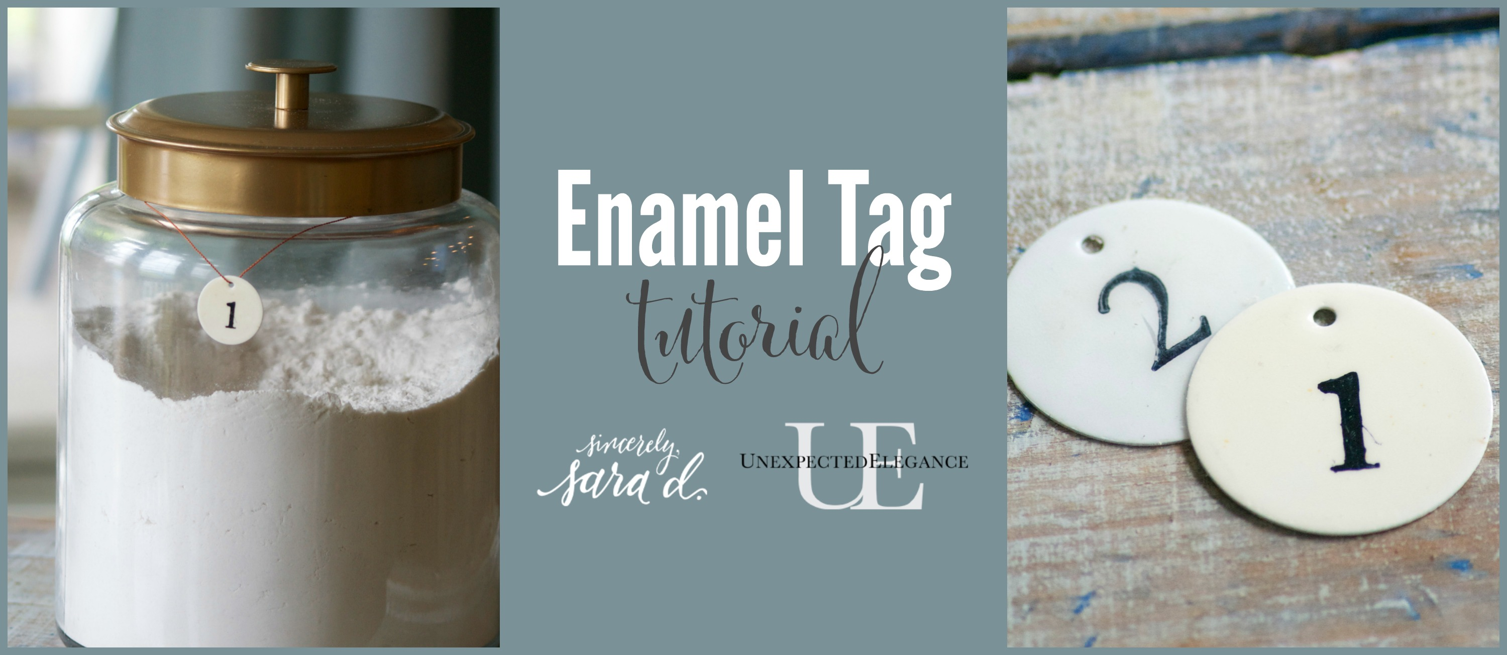 Enamel Tag Tutorial- FB