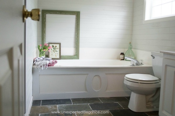 Inexpensive Ways To Update A Bathroom Unexpected Elegance - Cheap ways to update bathroom