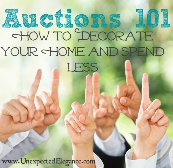 Learn How To Decorate Your Home And Spend Less By Going To Auctions. Find  Out