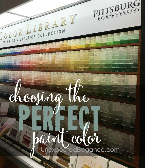 Do you have trouble picking paint colors for your home? Choosing the perfect paint color for your walls just got a LOT easier...check out how!