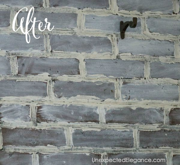 Do you have a space that needs a little bit of texture and love the look of brick? Check out this tutorial for a DIY brick wall that looks like the real thing! Just a few easy steps can transform a faux brick panel and no one will be able to tell they aren't real brick walls.