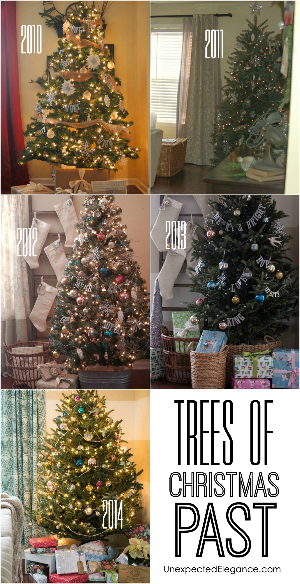 Trees of Christmas Past pin