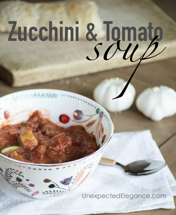 Zucchini and Tomato soup copy