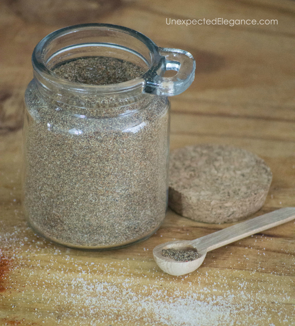 Are you trying to cut out preservative and additives from your diet? Try this homemade chili seasoning. It is packed with flavor, easy to make, and delicious!