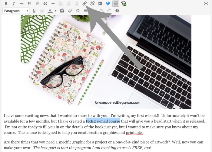 Find out how to add a DOWNLOADABLE PRINTABLE to your WordPress blog!! It's really easy and can add major value to your blog.