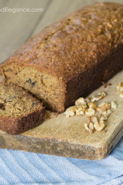 Banana Bread with Einkorn flour