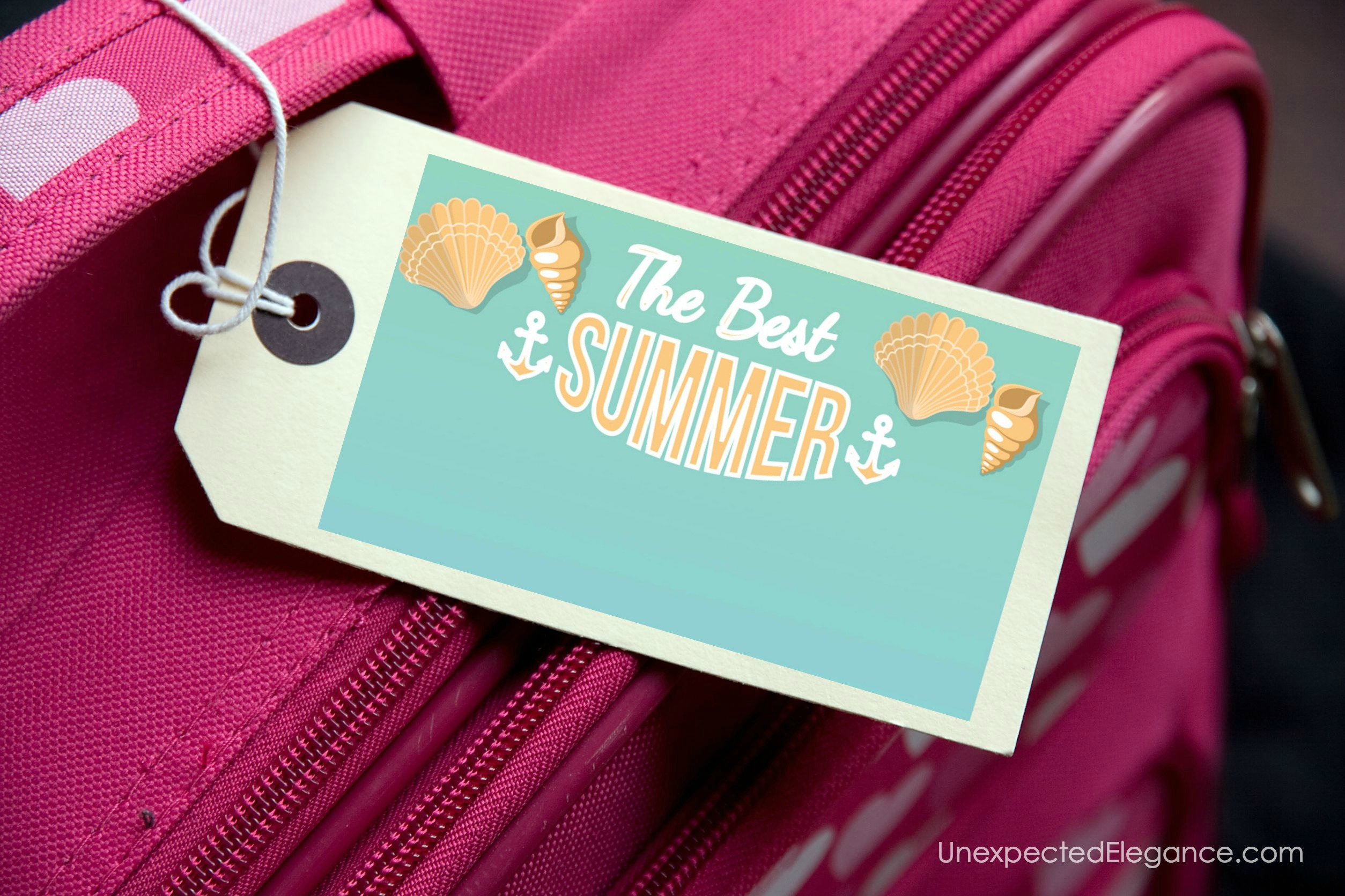 If you are traveling this summer, be sure to get these FREE summer travel printables.  They will help you remember everything and keep you sane!