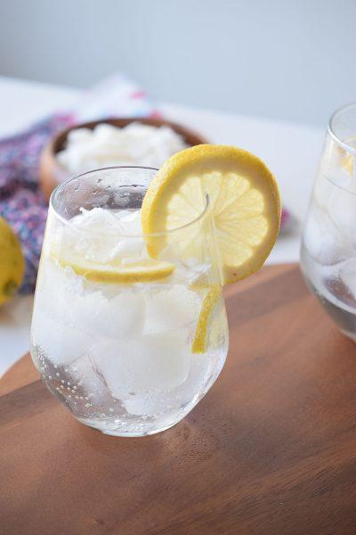 Coconut Lemon Spritzer