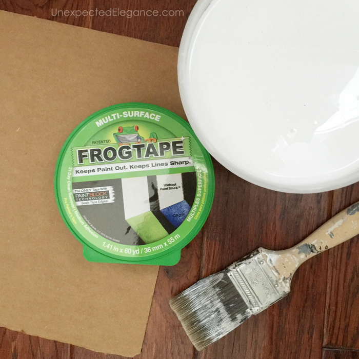 Frog Tape supplies copy