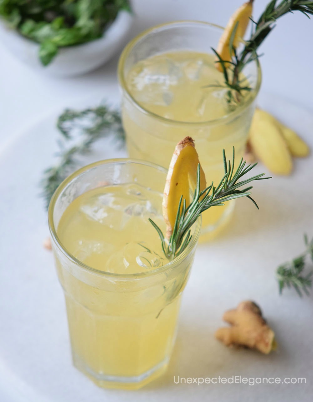 Try this awesome Ginger Beertail recipe! It's a perfect summer drink to share with friends on a warm night or as an after dinner cocktail.