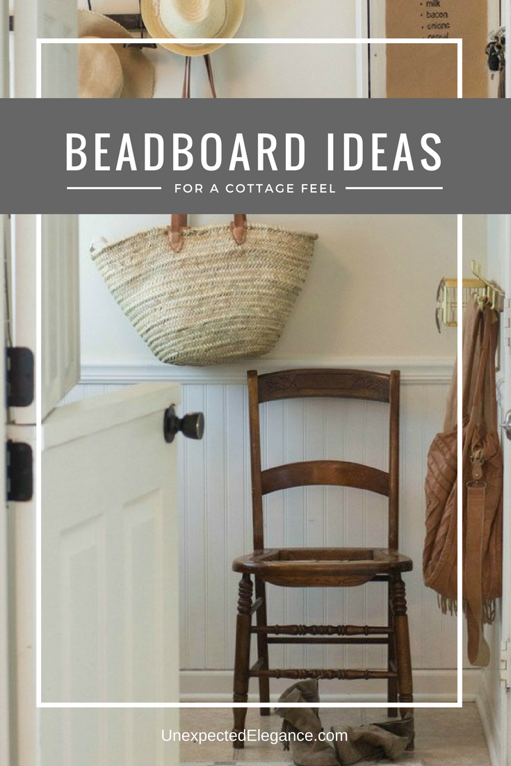 Want to give your home a cottage feel without breaking the bank? Check out these amazing BEADBOARD ideas!!