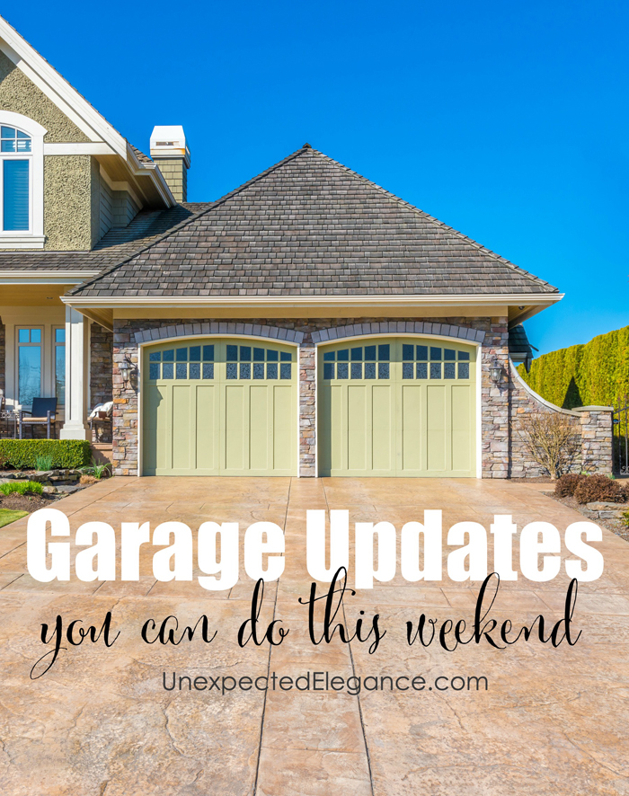 Is your garage a space where you spend as little time as possible? The average garage is not only boring, but usually a bit dirty. If you want to take back that part of your home, and make it useful for more than car storage, there are several great ways to update it quickly. Whether you add a splash of color or storage, you'll love these ways to update your garage (and most can be done in a weekend).