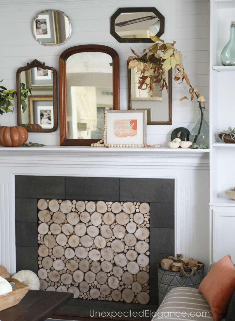 Want a beautiful mantel, but need some ideas?!? Check out this for some inspiration.