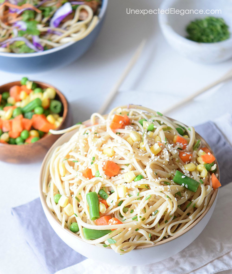 Give this delicious Korean stir fry a try tonight. It's quick and easy to whip up!