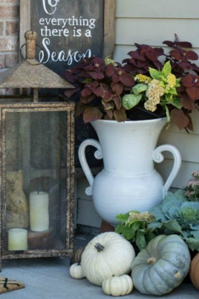 Adding Color to Your Fall Porch