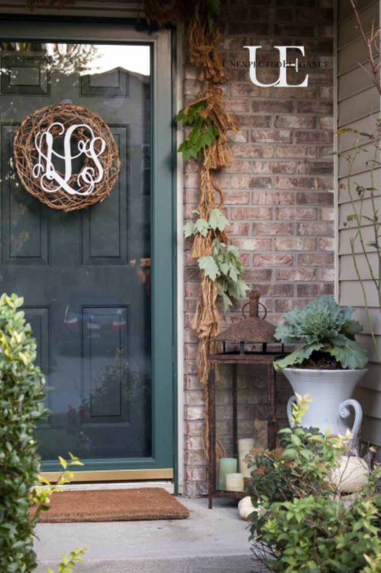 Find some great ideas for how to add color to your porch this fall!